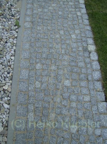 Verlegemuster Granitpflaster garten und landschaftsbau galabau heiko küchler fußweg aus